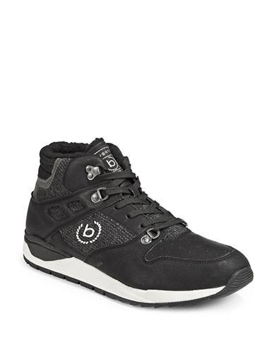 Bugatti Mens Nico Sneaker Boots-BLACK-EU 44/US 11