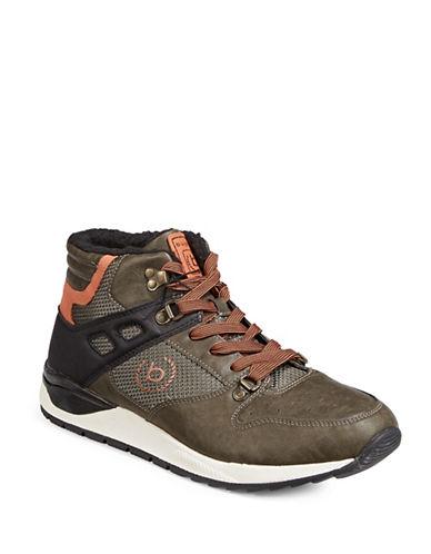 Bugatti Mens Nico Sneaker Boots-GREEN-EU 43/US 10