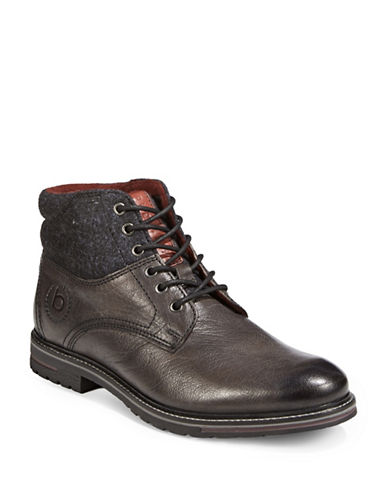 Bugatti Low Street Boots-DARK GREY-EU 42/US 9