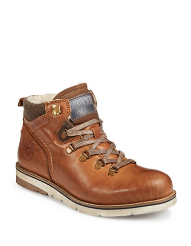Bugatti Hiker Boots-BROWN-EU 42/US 9