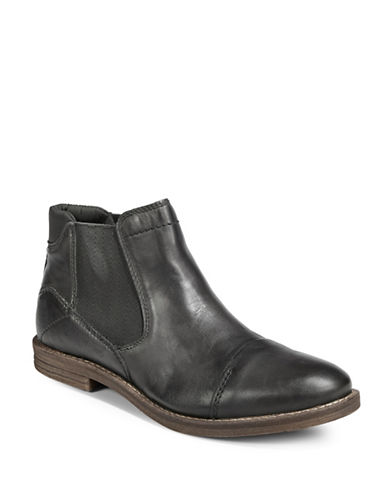 Bugatti Leather Chelsea Boots-GREY-EU 42/US 9