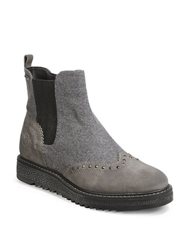Bugatti Fee Leather Street Boots-GREY-EUR 39/US 9