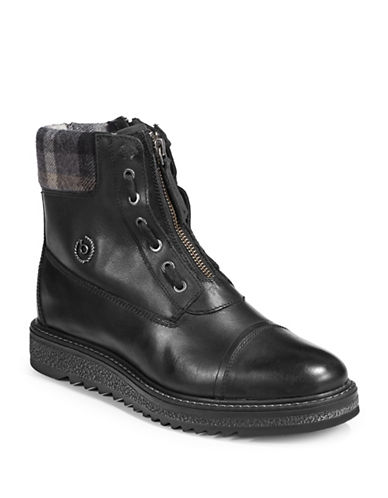 Bugatti Fee Leather Street Boots-BLACK-EUR 38/US 8