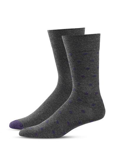 Bugatti Two-Pack Preppy Dots Socks Set-BLACK-7-9