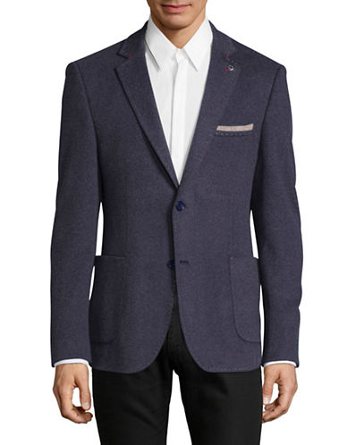 A Fish Named Fred Fitted Blazer-BLUE-54