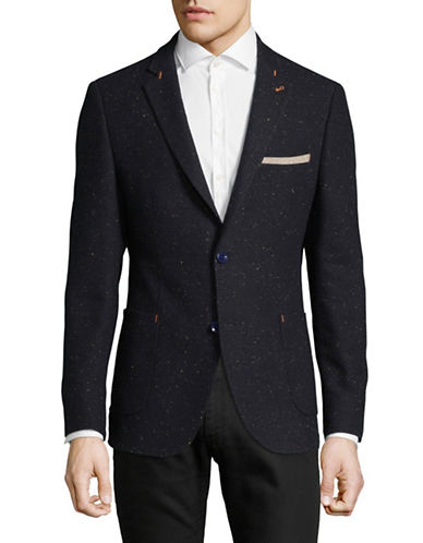 A Fish Named Fred Splatter Jacket-BLUE-52