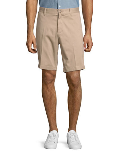Nautica Slim-Fit Cotton Shorts-KHAKI-36