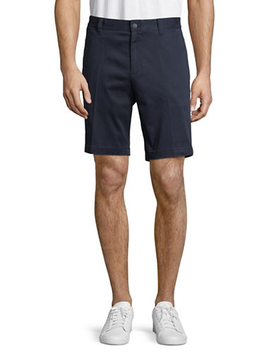 Nautica Slim-Fit Cotton-Blend Shorts-BLUE-40