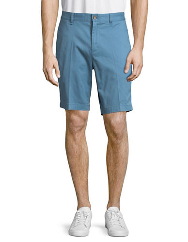 Nautica Slim-Fit Cotton-Blend Shorts-TIDE BLUE-38