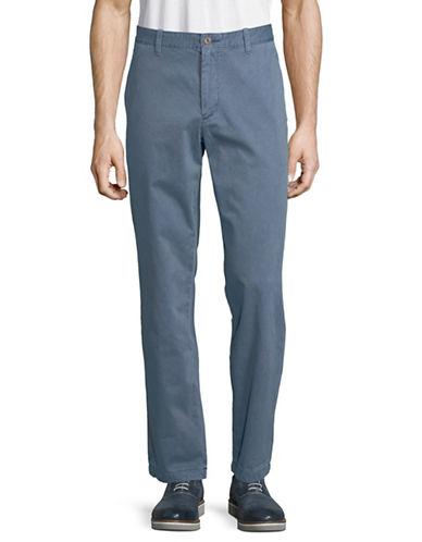 Nautica Garment Dyed Cotton Pants-BLUE-34X32
