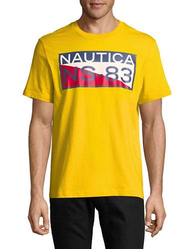 Nautica NS83 Cotton Tee-YELLOW-X-Large