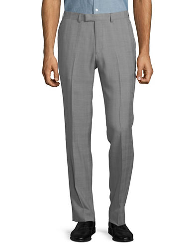 Hawkins And Kent Tailored Pants-GREY-34X32