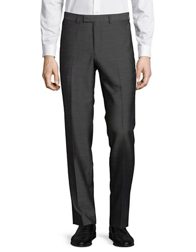 Hawkins And Kent Tailored Pants-GREY-34X30
