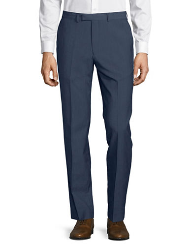 Hawkins And Kent Tailored Pants-BLUE-34X32