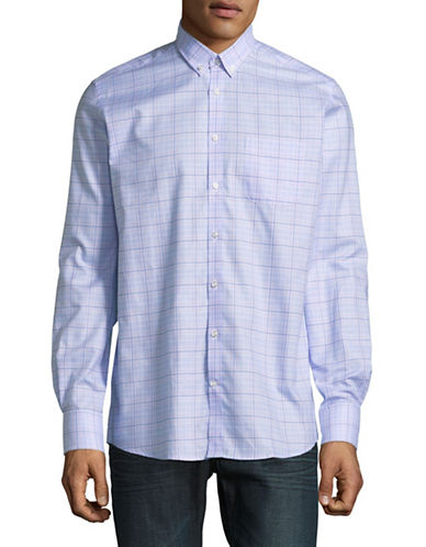 Bruun And Stengade Modern Walker Check Cotton Sport Shirt 89864033