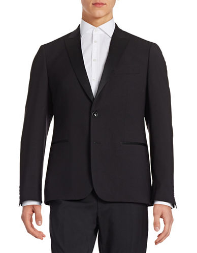 Sondergaard Tuxedo Jacket-BLACK-44 Regular