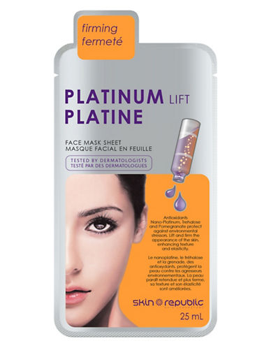 Skin Republic Platinum Lift Face Mask-NO COLOR-One Size