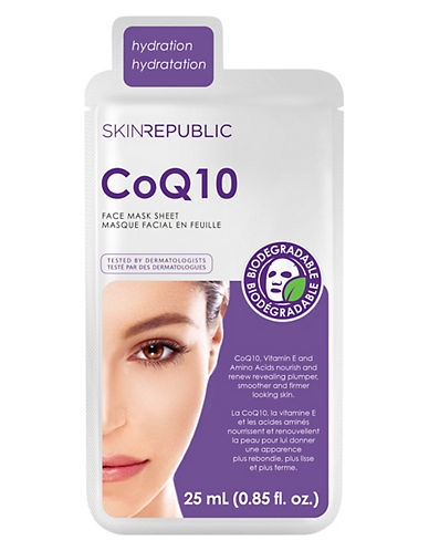 Skin Republic CoQ10 and Caviar Face Mask-NO COLOR-One Size