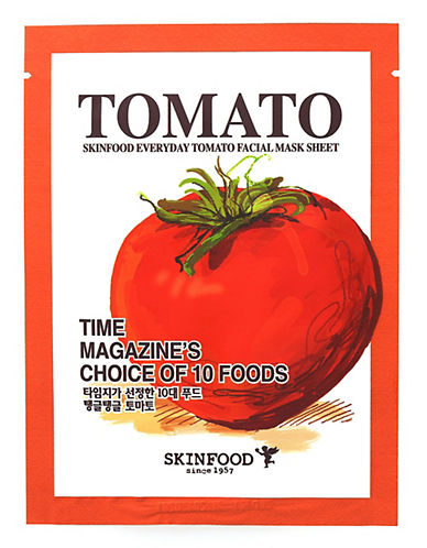 Skin Food Everyday Tomato Facial Mask Sheet-NO COLOUR-20 ml