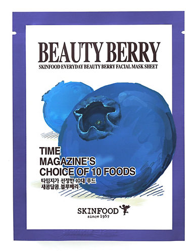 Skin Food Everyday Beauty Berry Facial Mask Sheet-NO COLOUR-20 ml