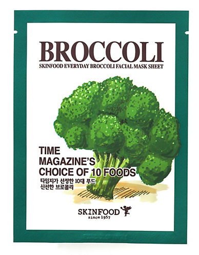 Skin Food Everyday Broccoli Facial Mask Sheet-NO COLOUR-20 ml