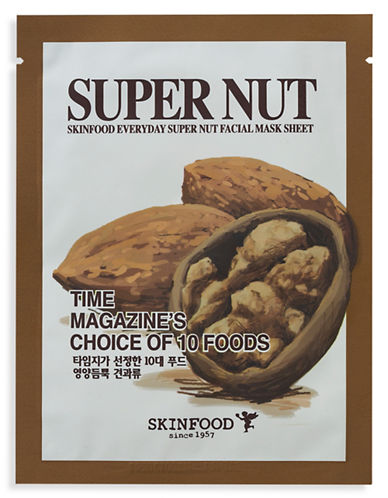 Skin Food Everyday Super Nut Facial Mask Sheet-NO COLOUR-20 ml