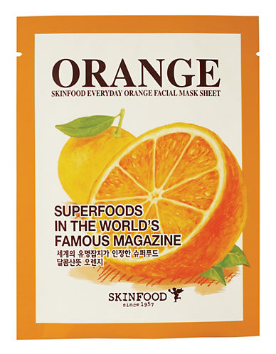 Skin Food Everyday Orange Facial Mask Sheet-NO COLOUR-20 ml