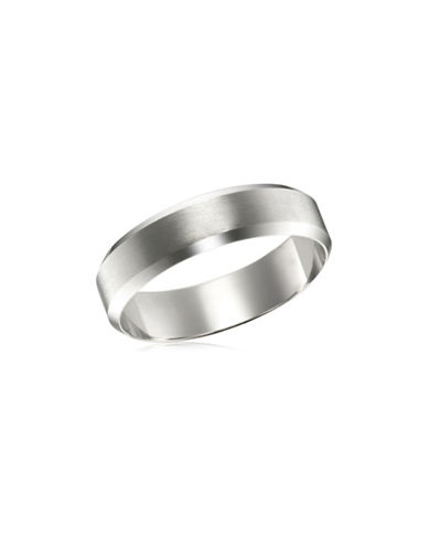 Fine Jewellery White Gold Wedding Band-WHITE GOLD-9