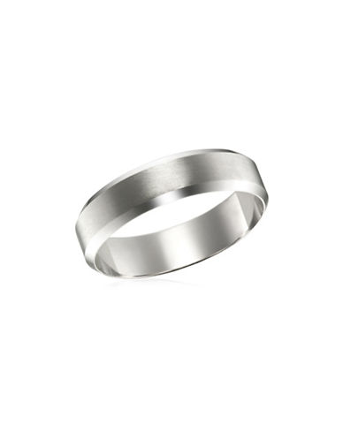 Fine Jewellery White Gold Wedding Band-WHITE GOLD-12