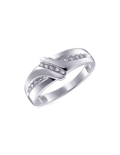 Fine Jewellery 0.25 TCW Diamonds White Gold Ring-WHITE GOLD-12