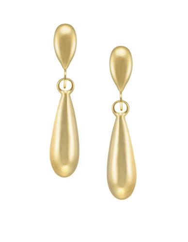 Fine Jewellery 14K Yellow Gold Drop Earrings-GOLD-One Size
