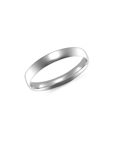 Fine Jewellery 14KT White Gold 3MM Wedding Band-WHITE GOLD-7