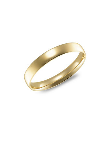 Fine Jewellery 14K Yellow Gold 3MM Wedding Band-YELLOW GOLD-5