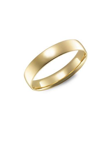 Fine Jewellery 14KT Yellow Gold Wedding Band-YELLOW-7