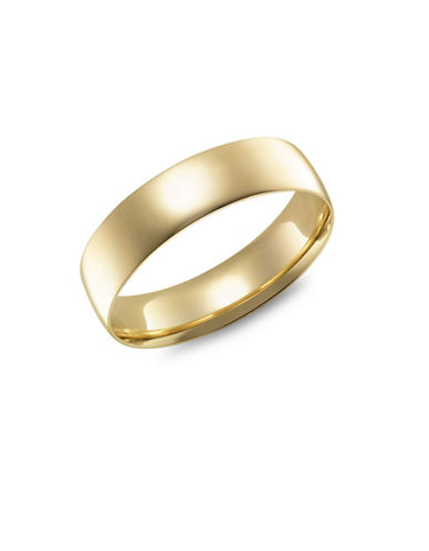 Fine Jewellery Yellow Gold Wedding Band-GOLD-5