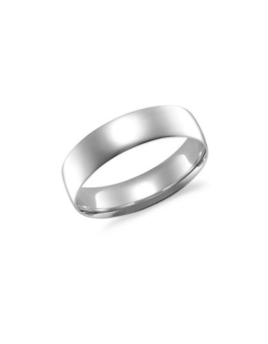 Fine Jewellery 14KT White Gold 5MM Wedding Band-WHITE GOLD-7