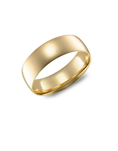 Fine Jewellery Yellow Gold Wedding Band-YELLOW GOLD-5