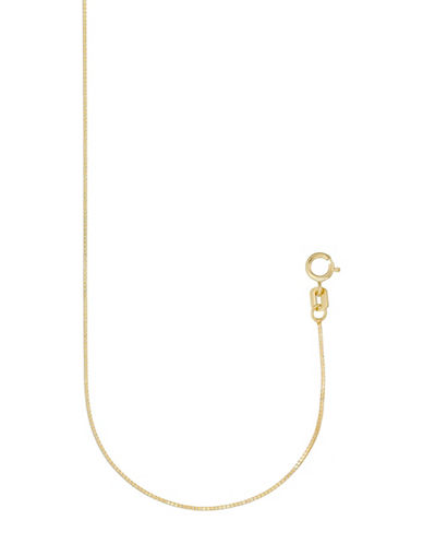 Gold Celebration 16-Inch 14K Yellow Gold Box Chain-GOLD-One Size