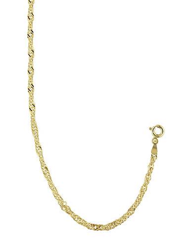 Fine Jewellery 14K Yellow Gold Sparkle Bracelet-GOLD-One Size