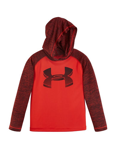 Under Armour Big Logo Hoodie-RISK RED-6 88449263_RISK RED_6