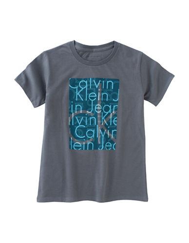 Calvin Klein Transparent Crew Neck Tee-GREY-Medium 88754233_GREY_Medium