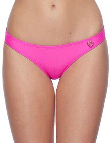 Body Glove Smoothies Bikini Swim Bottoms-PINK-X-Small