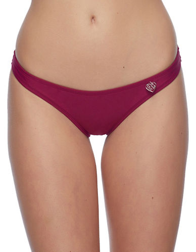 Body Glove Smoothies Bikini Swim Bottoms-PURPLE-Small