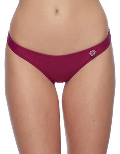 Body Glove Smoothies Bikini Bottom-PURPLE-Large