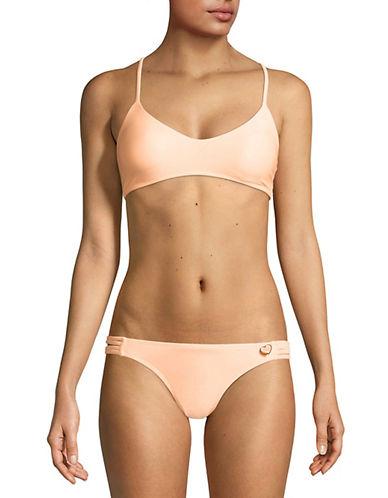 Body Glove Smoothies Alani Bikini Top-ORANGE-X-Small