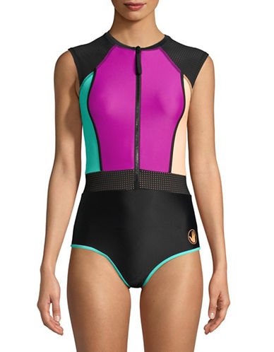 Body Glove Bounce Stand Up Paddle Suit-PURPLE-Medium