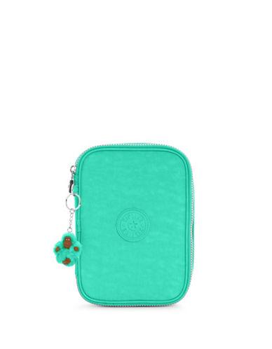 Kipling Plain Zip-Around Wallet-TURQOUISE-One Size