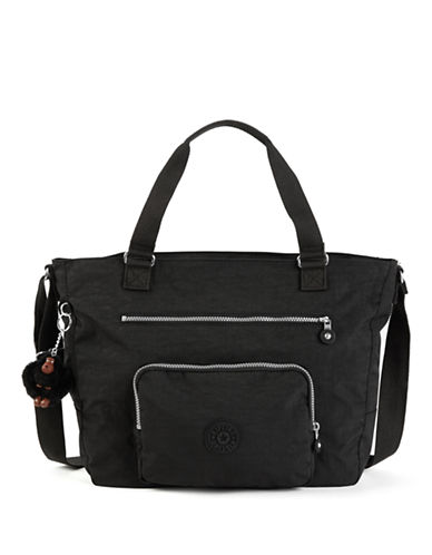 Kipling Maxwell Tote Bag-BLACK-One Size