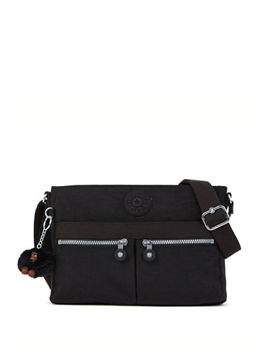 Kipling Angie Top Zip Crossbody-BLACK-One Size