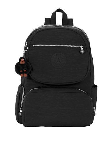 Kipling Dawson Nylon Backpack-BLACK-One Size